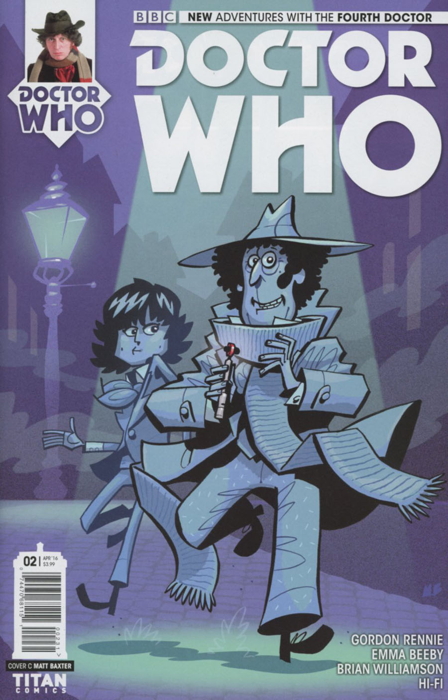 Doctor Who 4th Doctor #2 Cover C Variant Matt Baxter Cover
