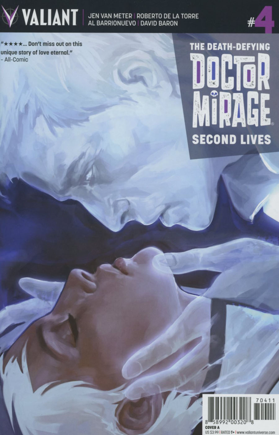Death-Defying Doctor Mirage Second Lives #4 Cover A Regular Jelena Kevic-Djurdjevic Cover
