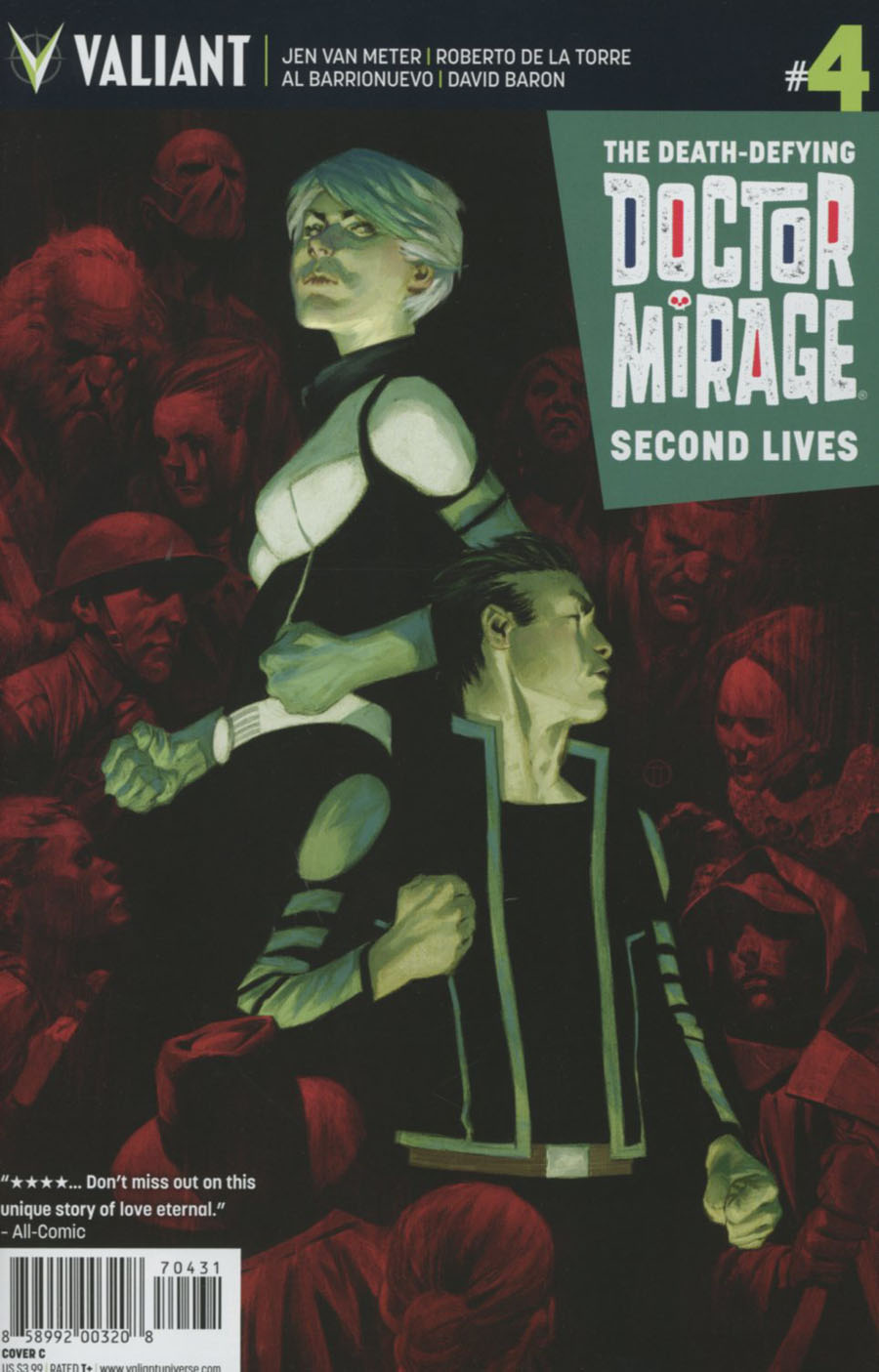 Death-Defying Doctor Mirage Second Lives #4 Cover C Variant Julian Totino Tedesco Cover