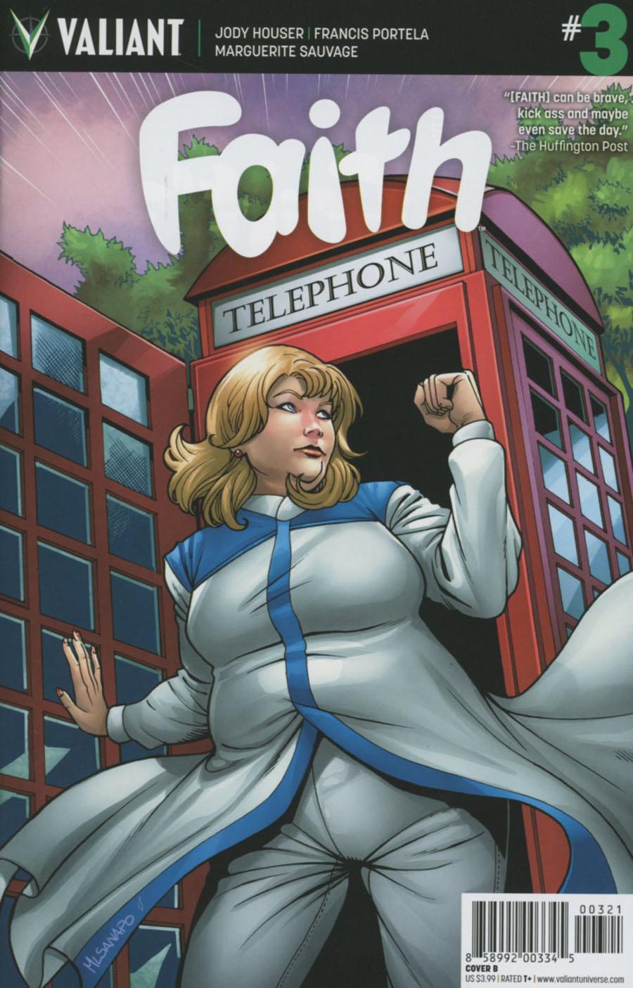 Faith (Valiant Entertainment) #3 Cover B Variant Emanuela Lupacchino Cover