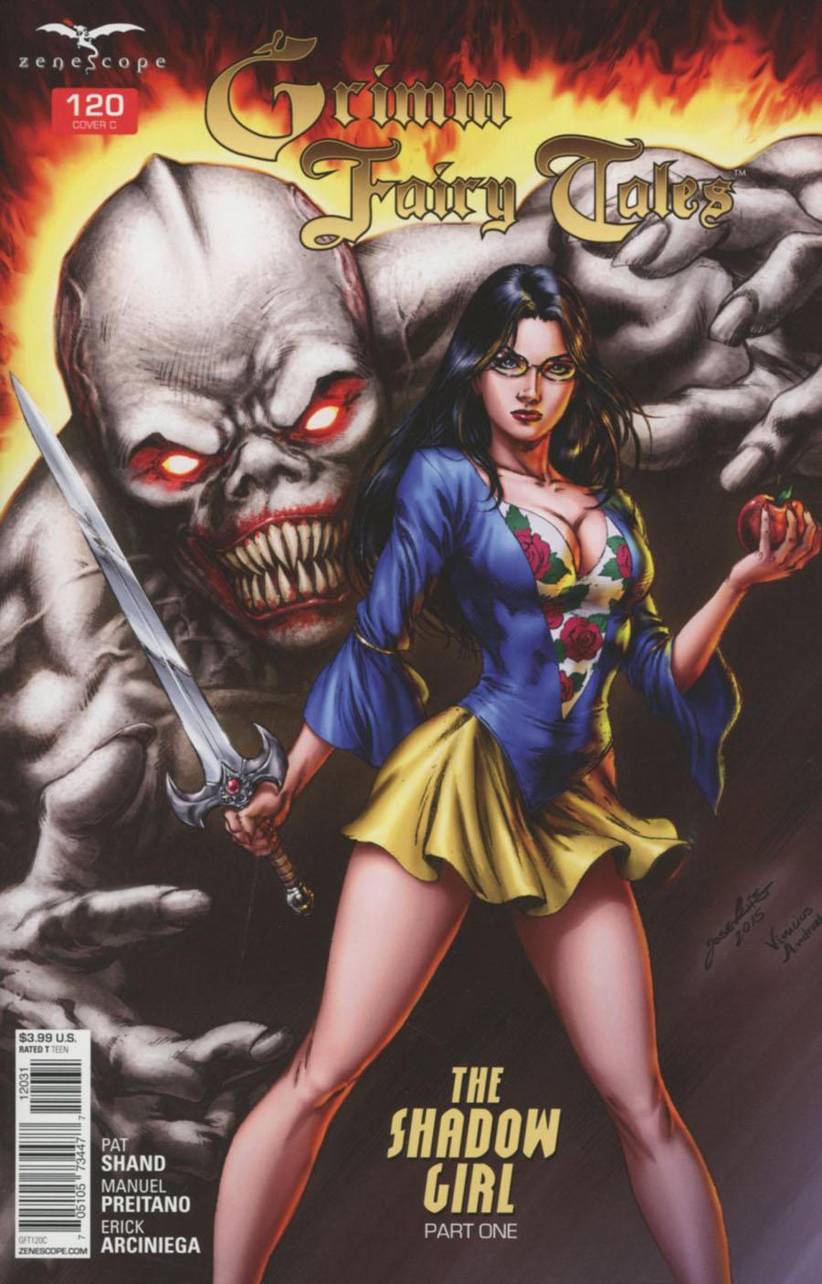 Grimm Fairy Tales #120 Cover C Jose Luis