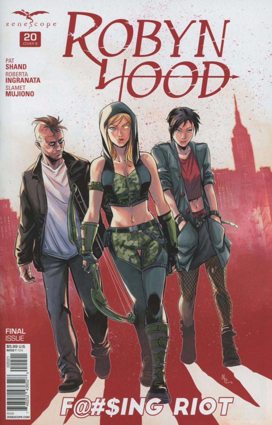 Grimm Fairy Tales Presents Robyn Hood Vol 2 #20 Cover B Manuel Preitano