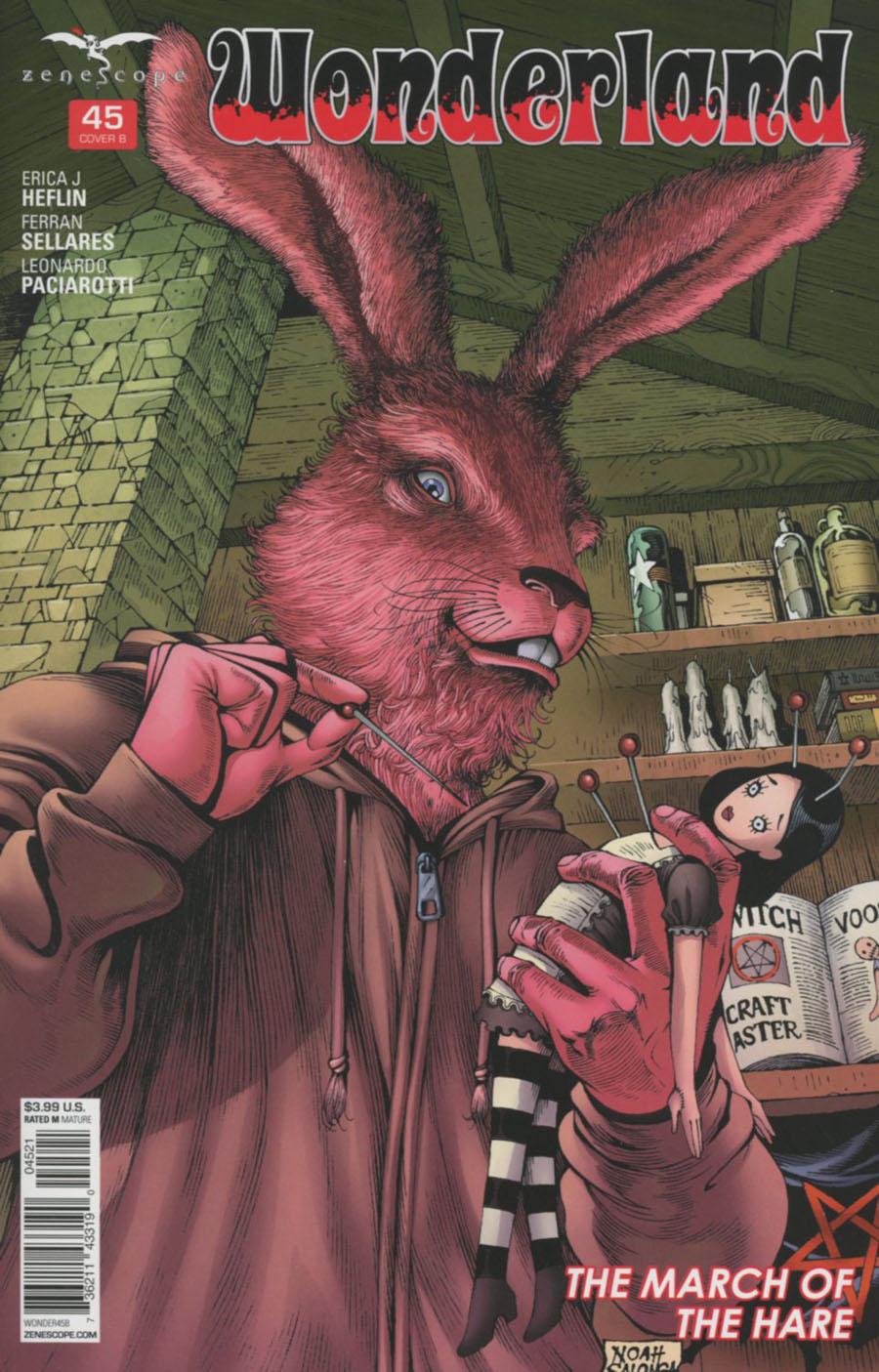 Grimm Fairy Tales Presents Wonderland Vol 2 #45 Cover B Noah Salonga