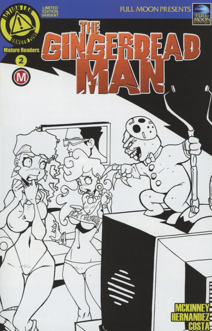 Gingerdead Man #2 Cover C Variant Dan Mendoza Cover