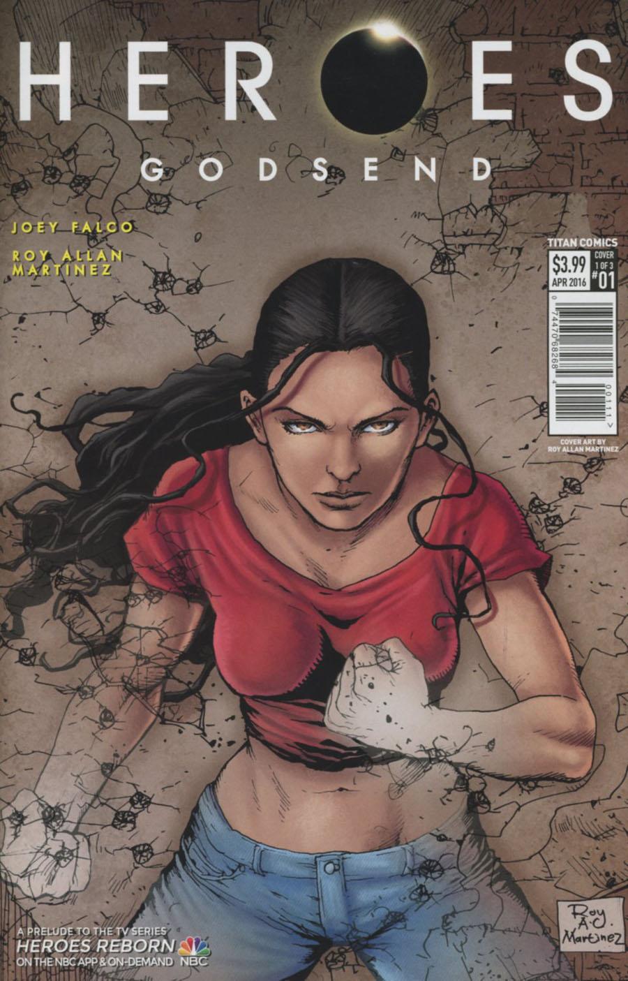 Heroes Godsend #1 Cover A Regular Roy Allan Martinez Cover