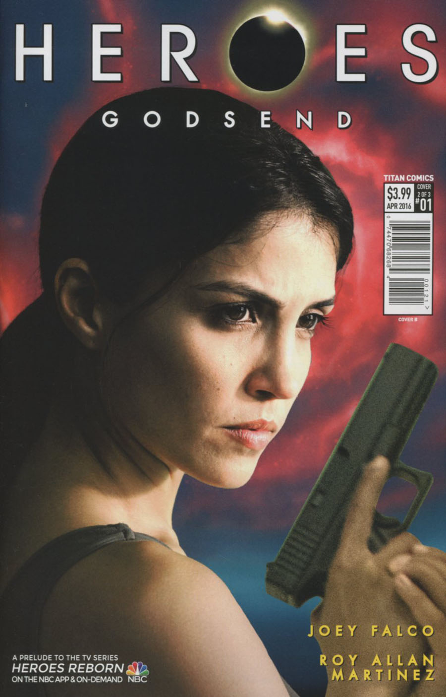 Heroes Godsend #1 Cover B Variant Photo Subscription Cover