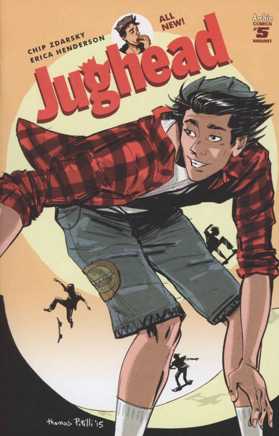 Jughead Vol 3 #5 Cover C Variant Thomas Pitilli Cover