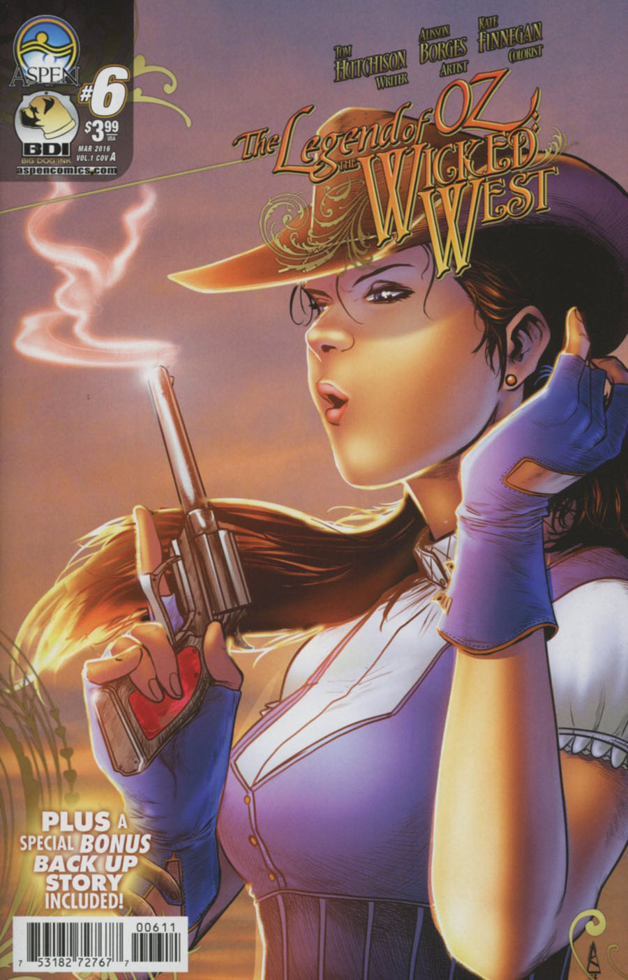 Legend Of Oz The Wicked West Vol 3 #6 Cover A Regular Allison Borges Cover