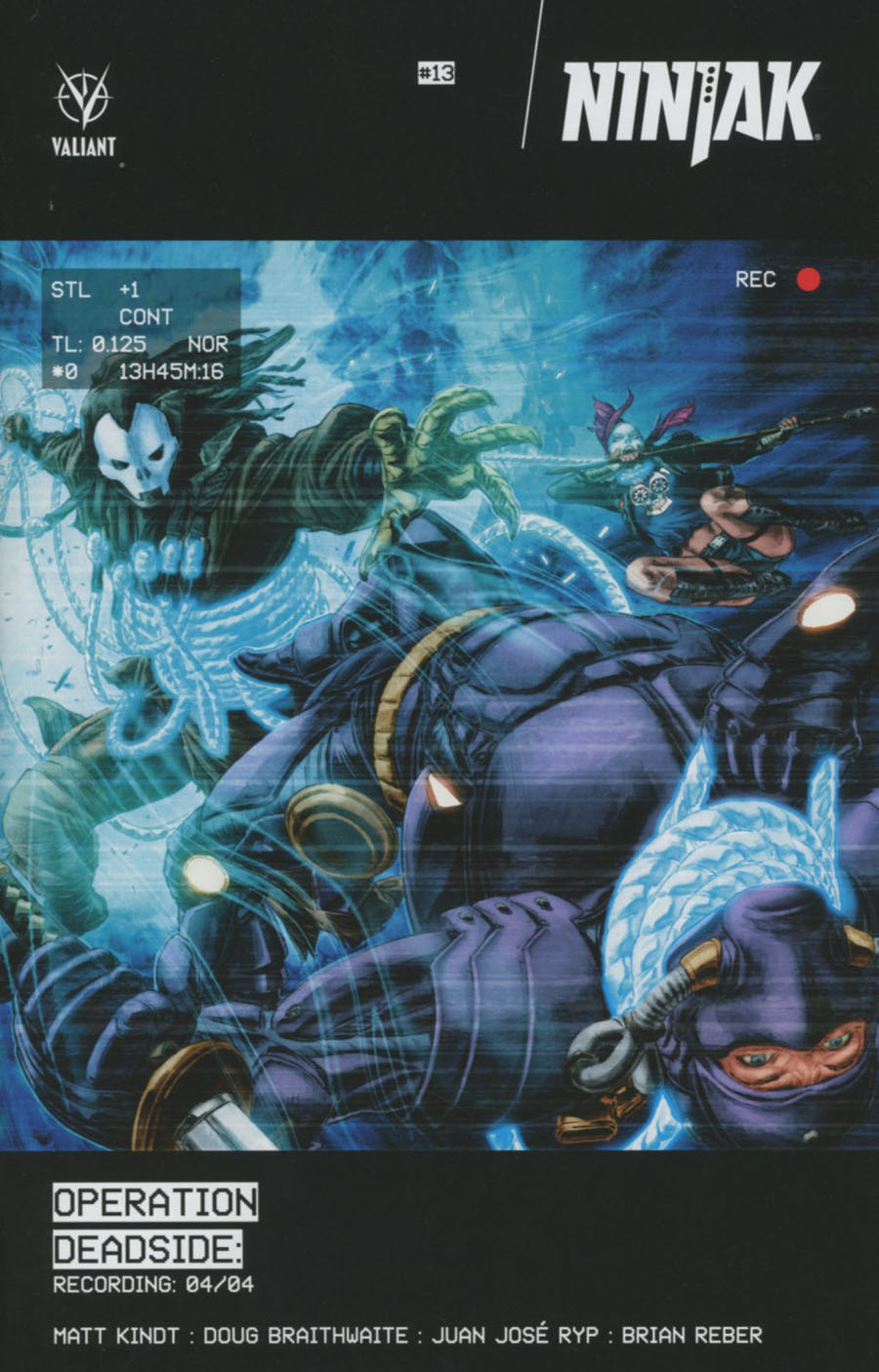 Ninjak Vol 3 #13 Cover A Regular Doug Braithwaite Cover