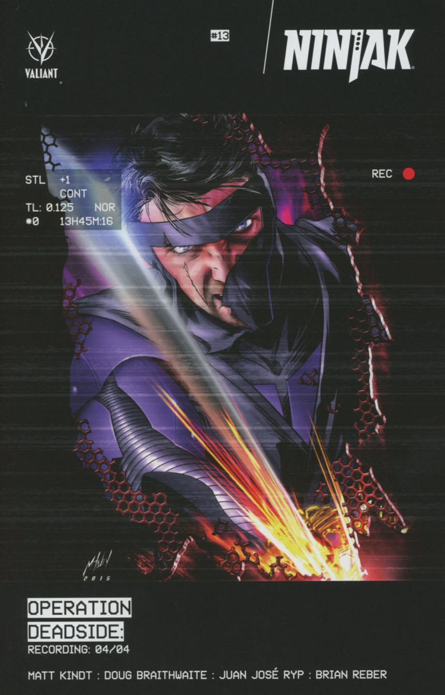 Ninjak Vol 3 #13 Cover B Variant Matt Haley Cover