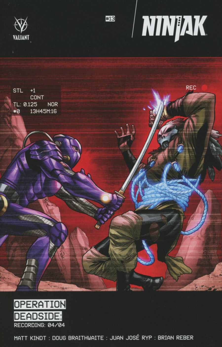 Ninjak Vol 3 #13 Cover C Variant Clayton Henry Cover