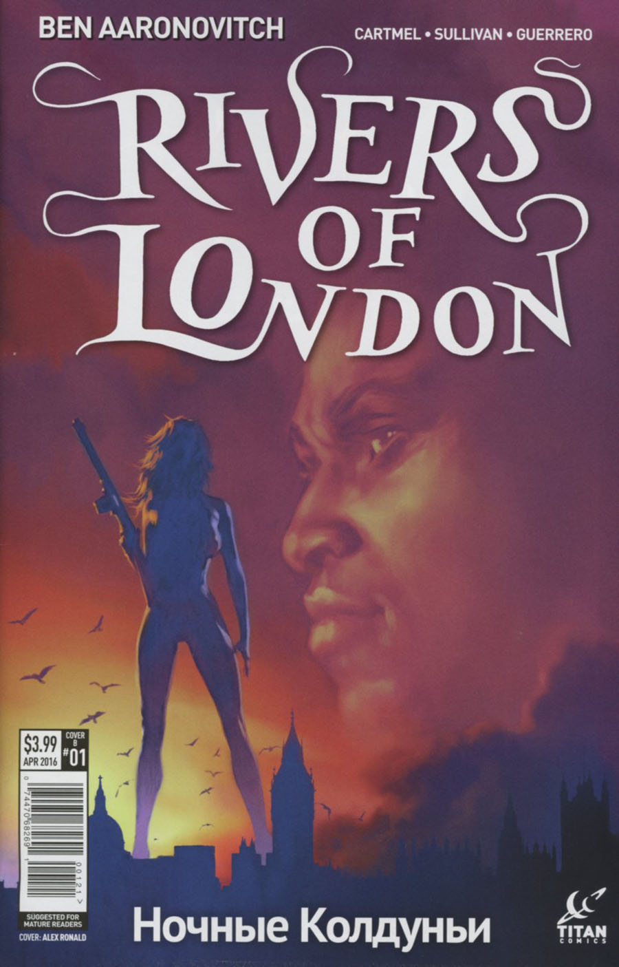 Rivers Of London Night Witch #1 Cover B Variant Alex Ronald Subscription Cover