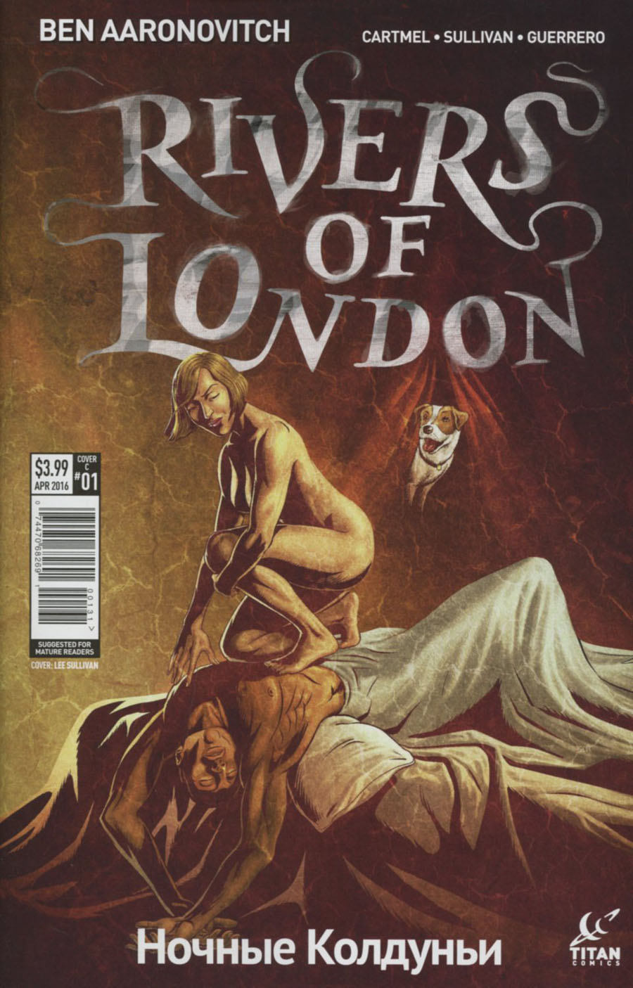 Rivers Of London Night Witch #1 Cover C Variant Lee Sullivan Cover
