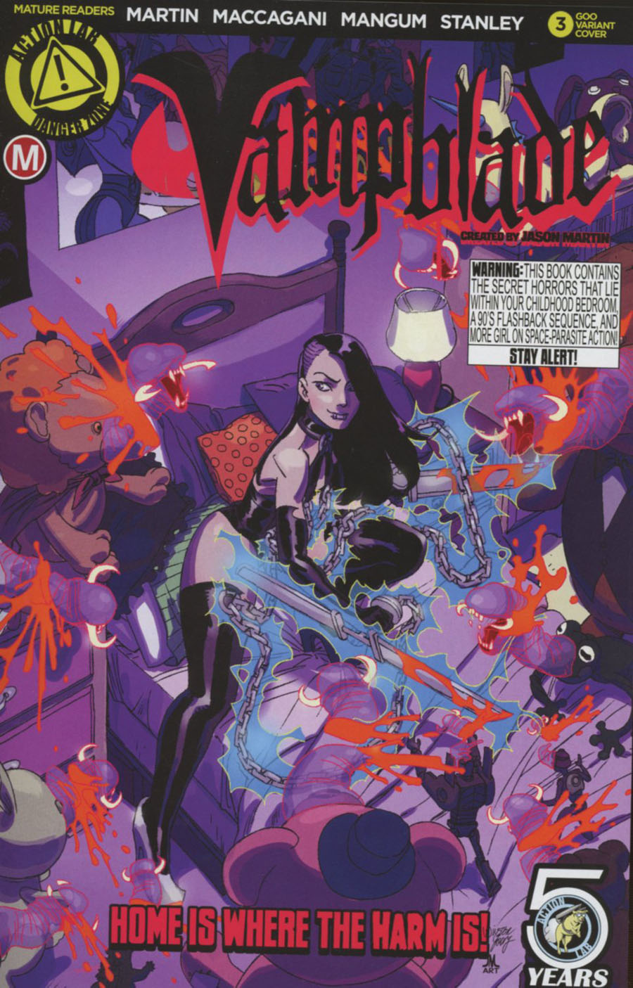 Vampblade #3 Cover B Variant Winston Young Goo Cover