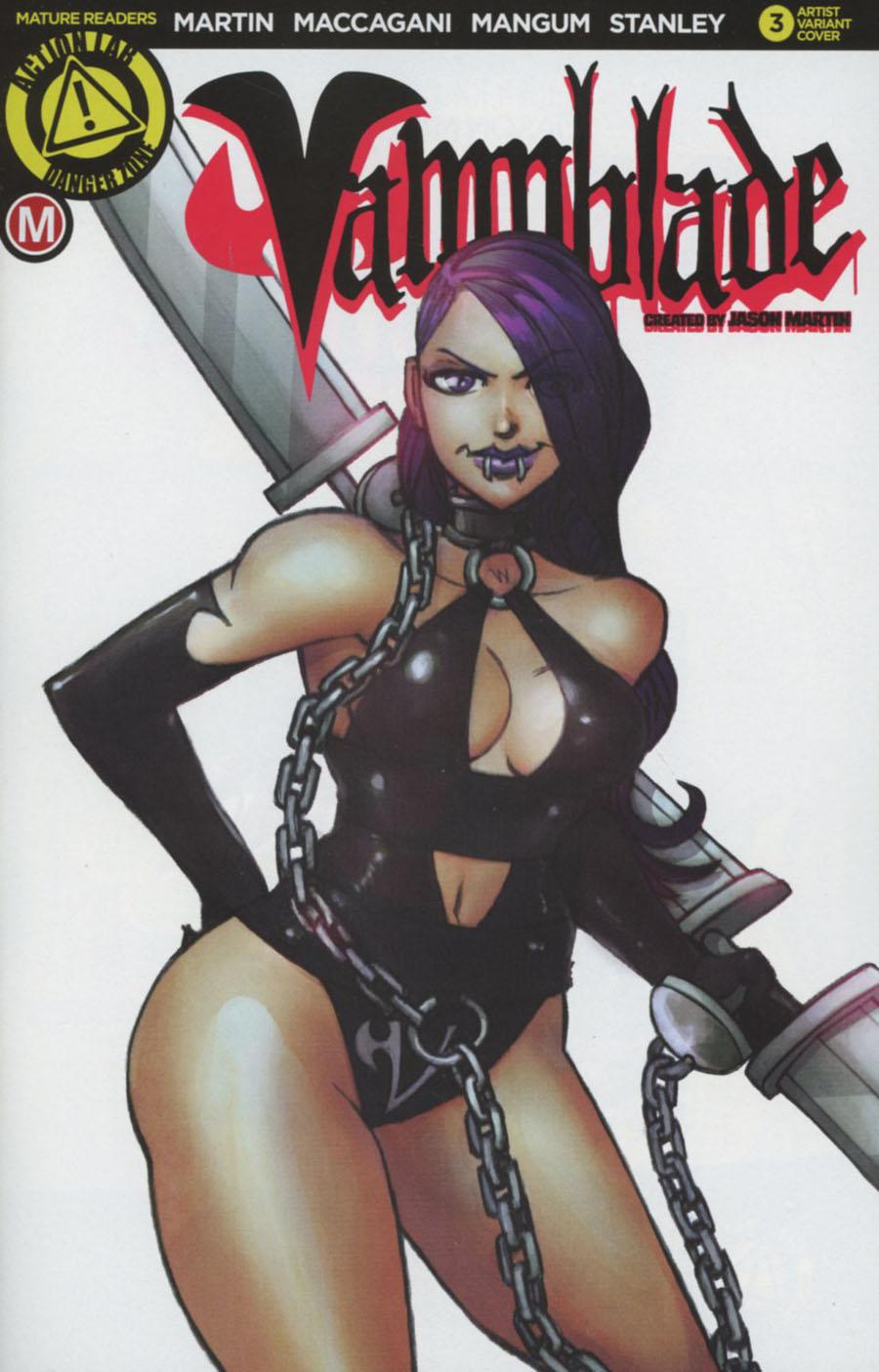 Vampblade #3 Cover C Variant Jason Martin Artist Cover