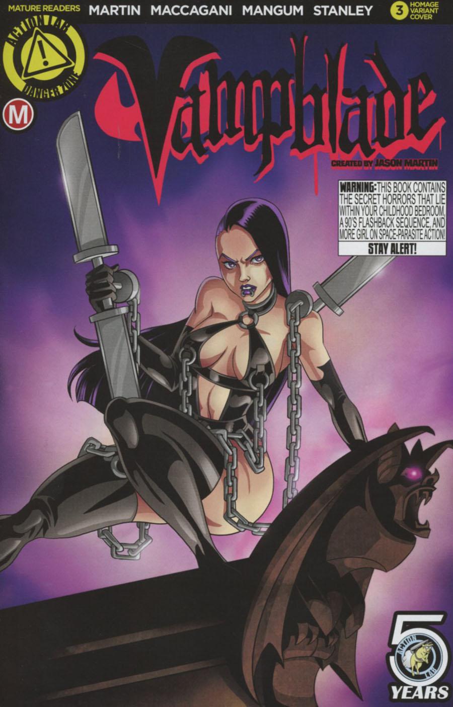 Vampblade #3 Cover E Variant Edward Pun Homage Cover