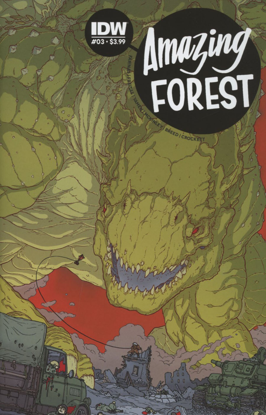 Amazing Forest #3 Cover A Regular Ulises Farinas Cover