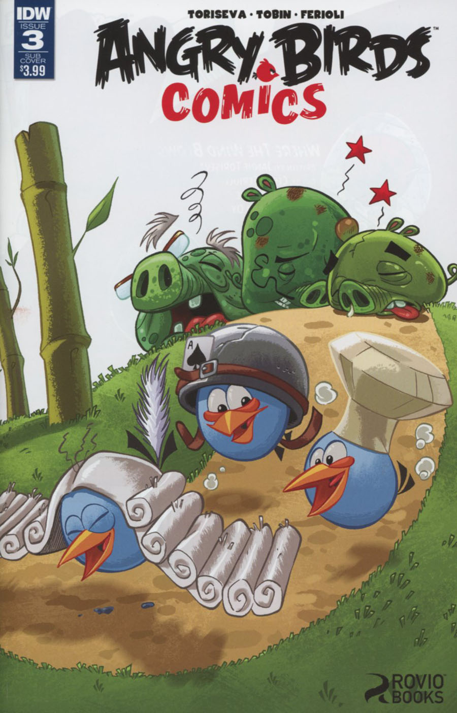 Angry Birds Comics Vol 2 #3 Cover B Variant Paco Rodriques Subscription Cover