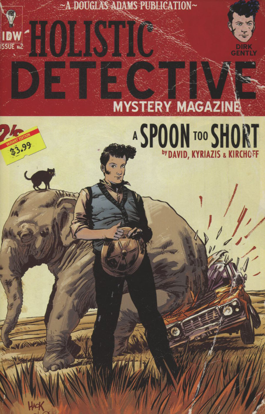 Dirk Gentlys Holistic Detective Agency A Spoon Too Short #2 Cover B Variant Robert Hack Subscription Cover