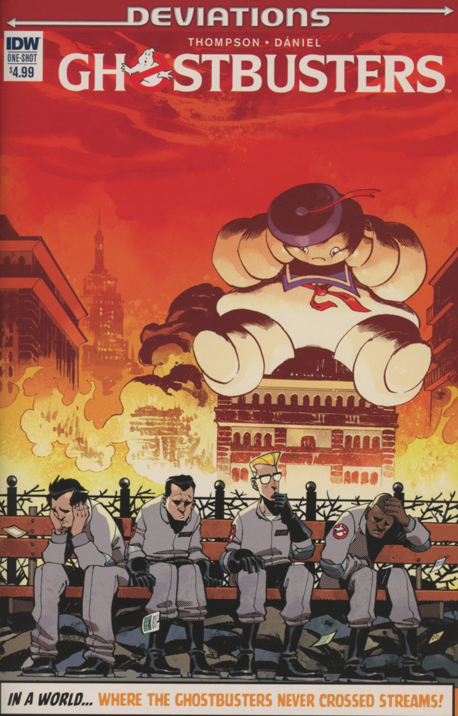Ghostbusters Deviations One Shot Cover A Regular Nelson Daniel Cover