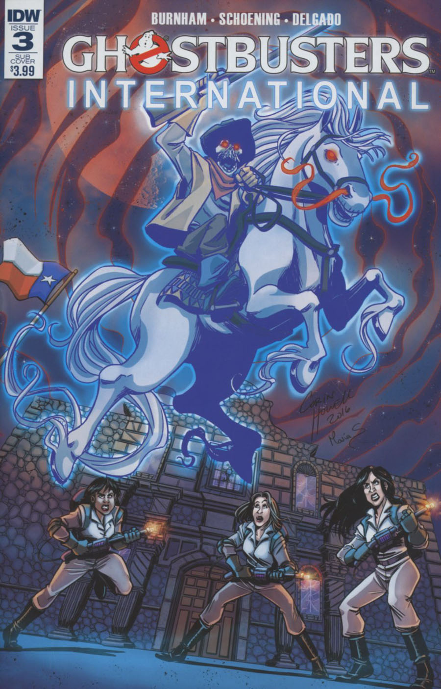 Ghostbusters International #3 Cover B Variant Corin Howell Subscription Cover