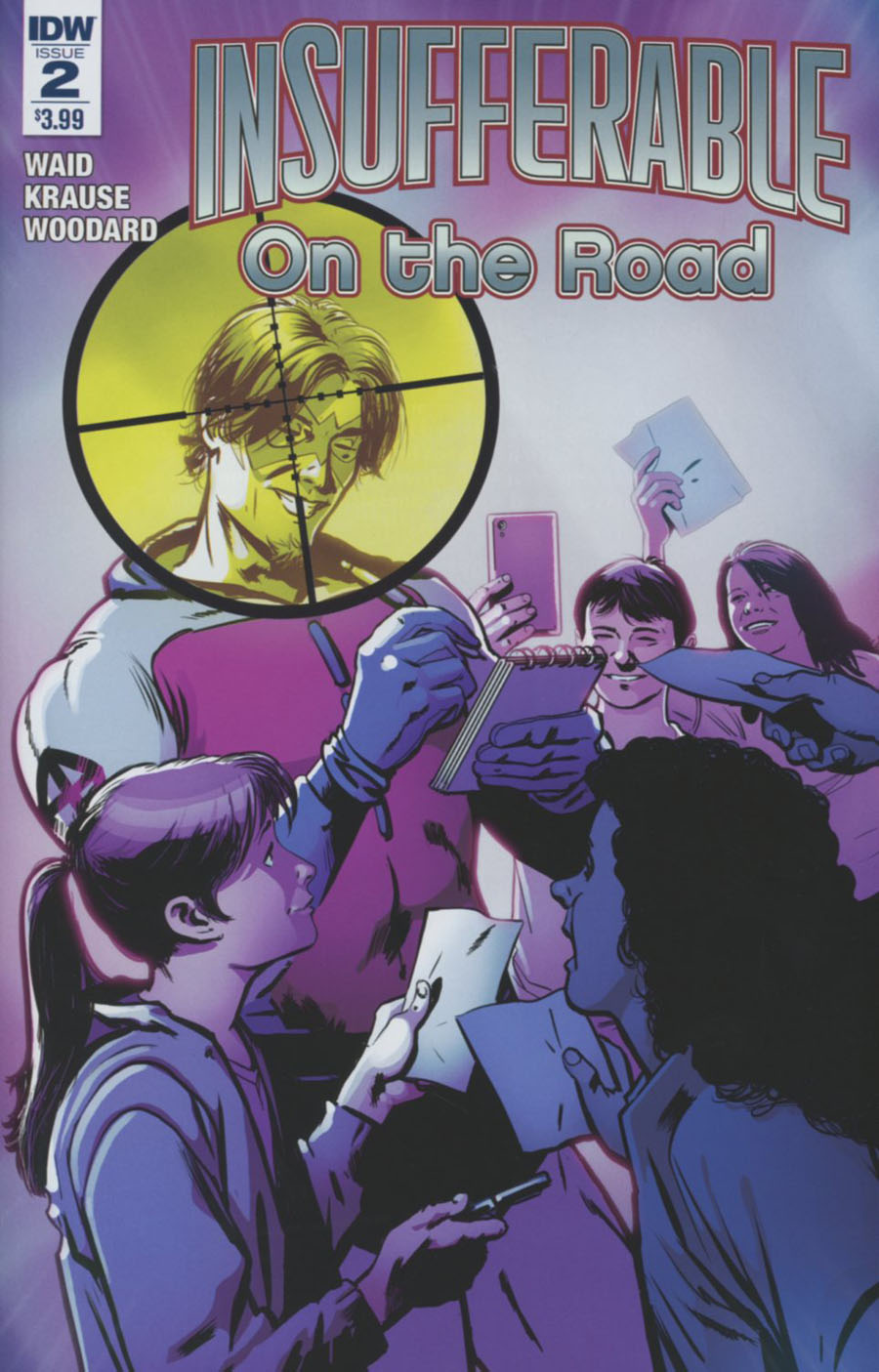 Insufferable On The Road #2 Cover A Regular Peter Krause Cover
