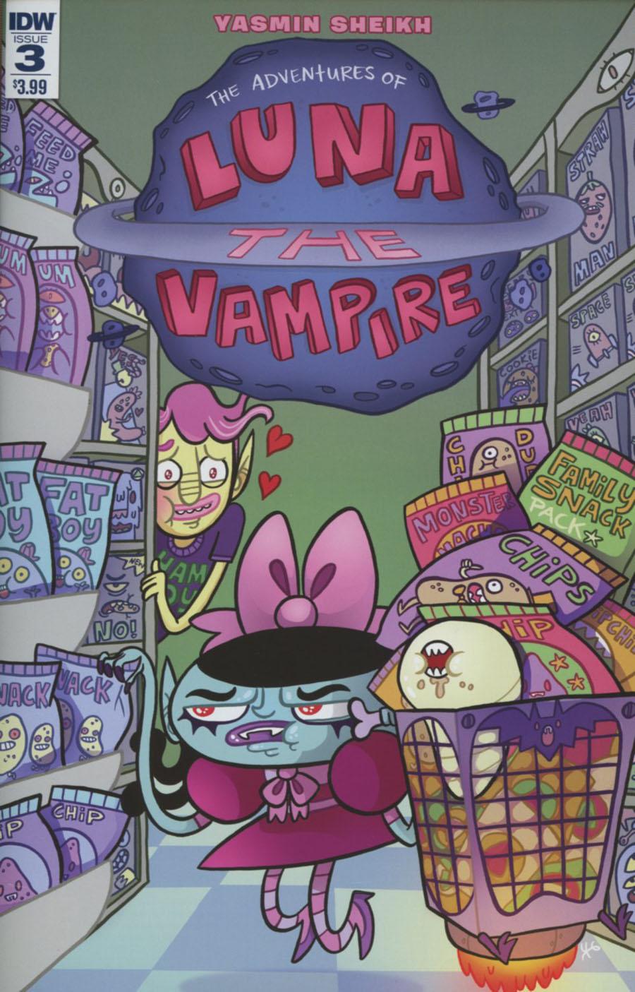 Luna The Vampire #3 Cover A Regular Yasmin Sheikh Cover