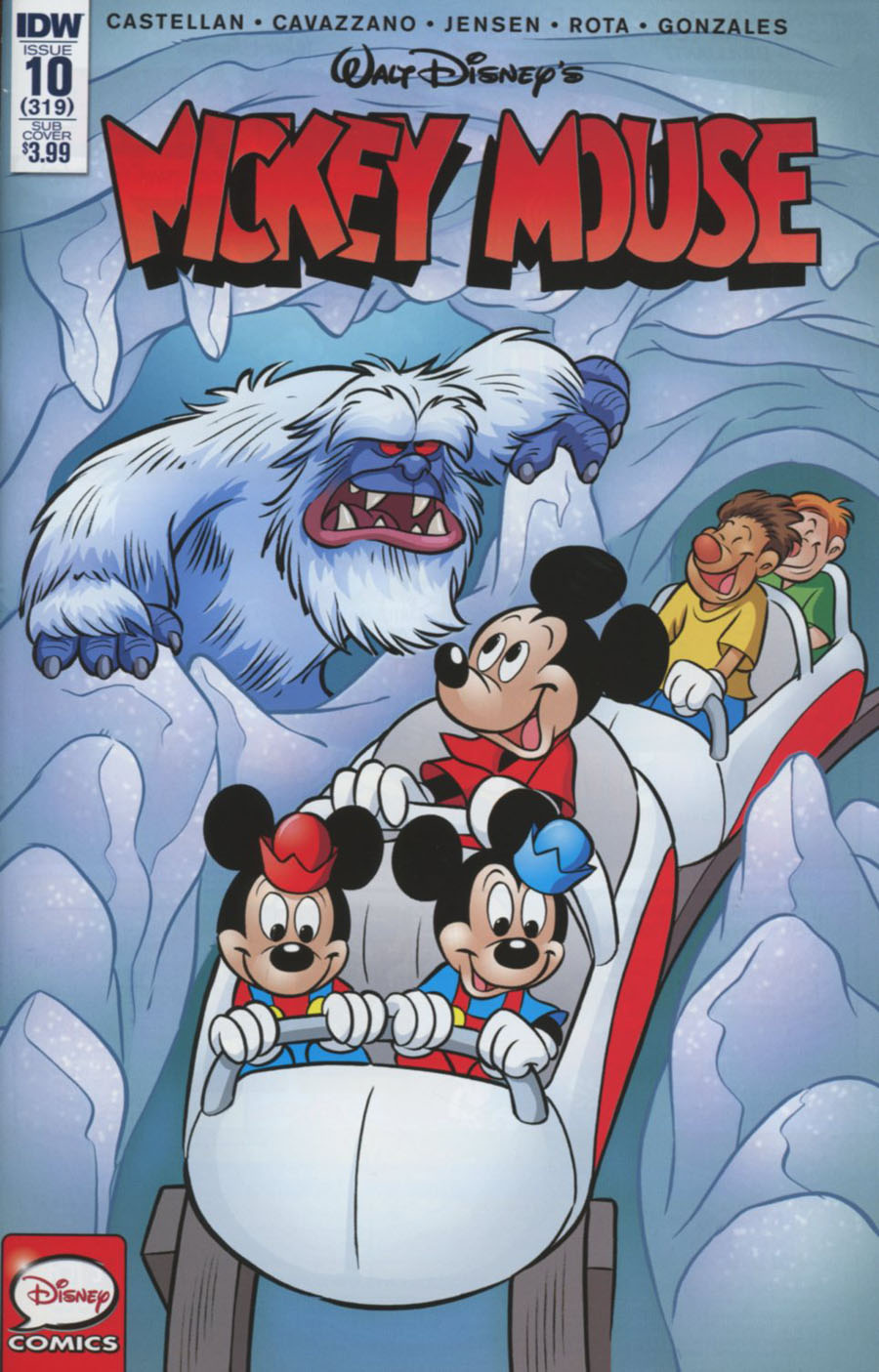 Mickey Mouse Vol 2 #10 Cover B Variant Alessandro Perina Subscription Cover