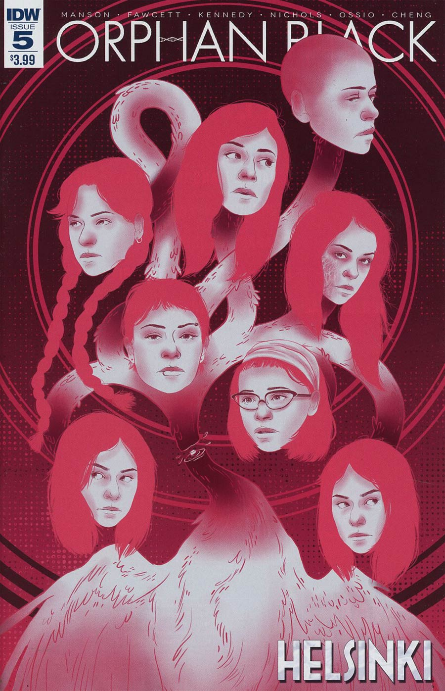 Orphan Black Helsinki #5 Cover A Regular Aynslie Risto Cover