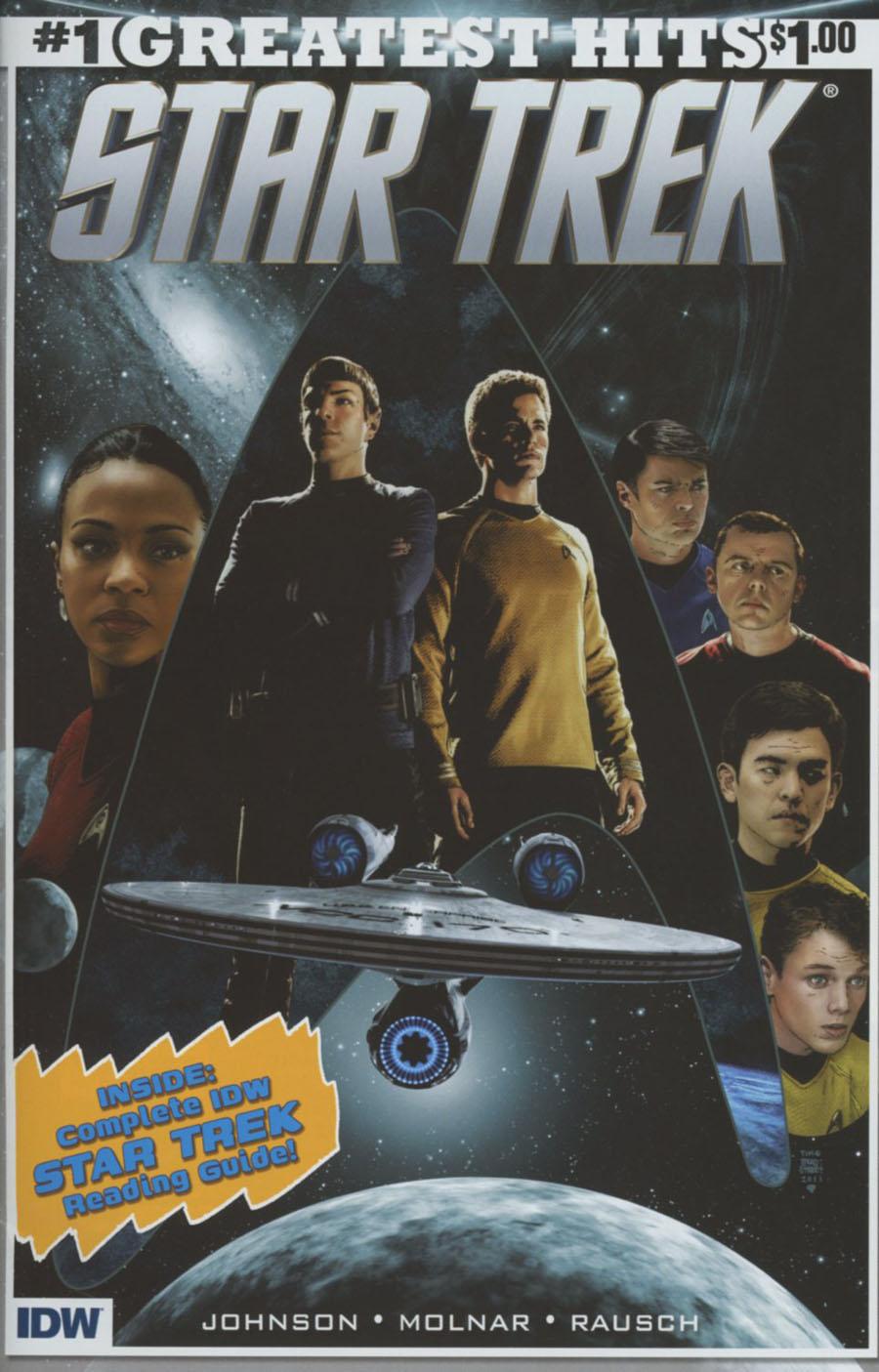 Star Trek (IDW) #1 Cover J IDWs Greatest Hits
