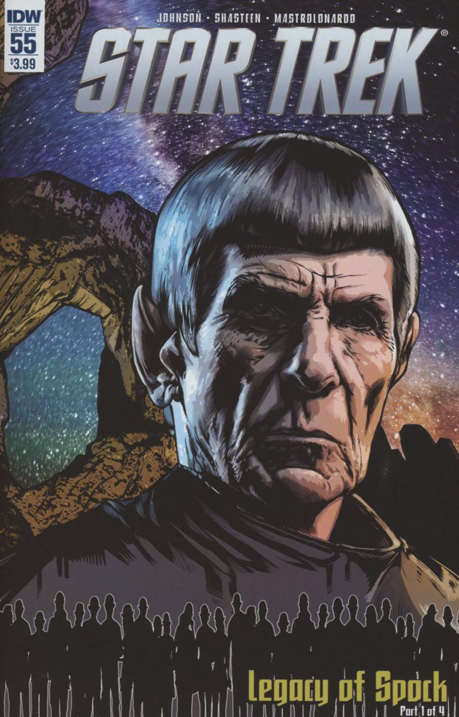 Star Trek (IDW) #55 Cover A Regular Tony Shasteen Cover