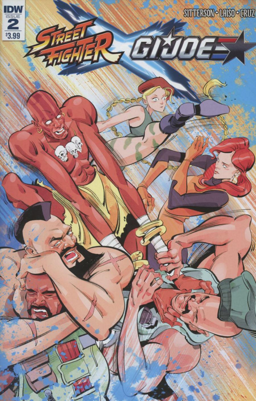 Street Fighter x GI Joe #2 Cover A Regular Kagan McLeod Cover