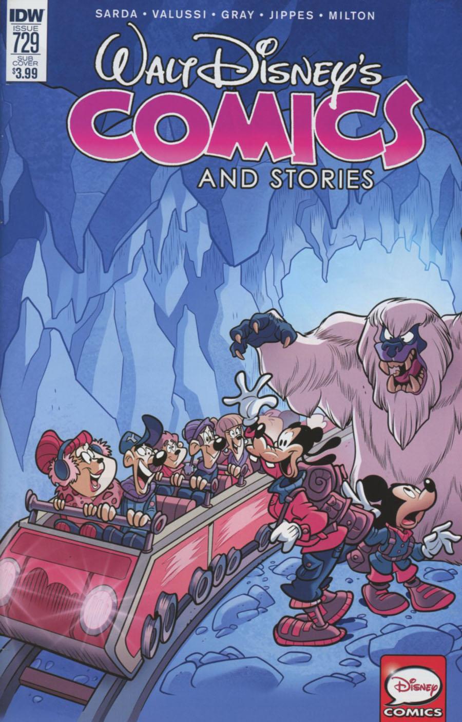 Walt Disneys Comics & Stories #729 Cover B Variant Massimo Asaro Subscription Cover