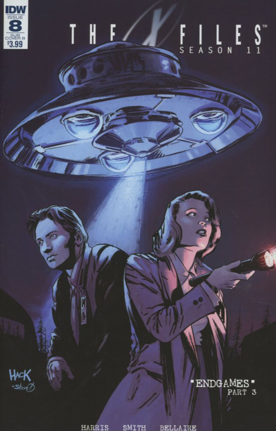 X-Files Season 11 #8 Cover C Variant Robert Hack Subscription Cover