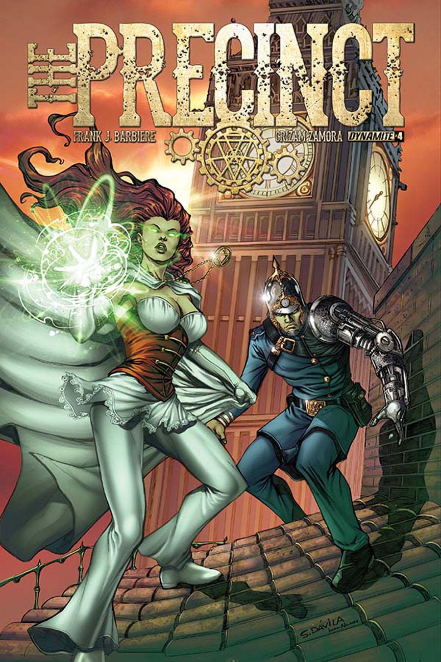 Precinct #4 Cover A Regular Sergio Fernandez Davila Cover