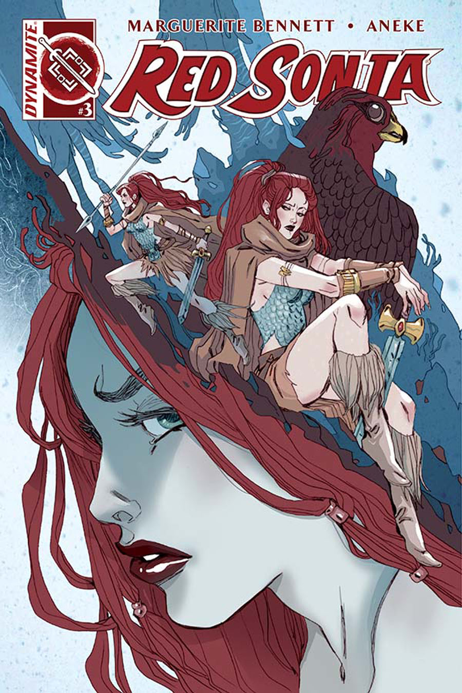 Red Sonja Vol 6 #3 Cover A Regular Marguerite Sauvage Cover