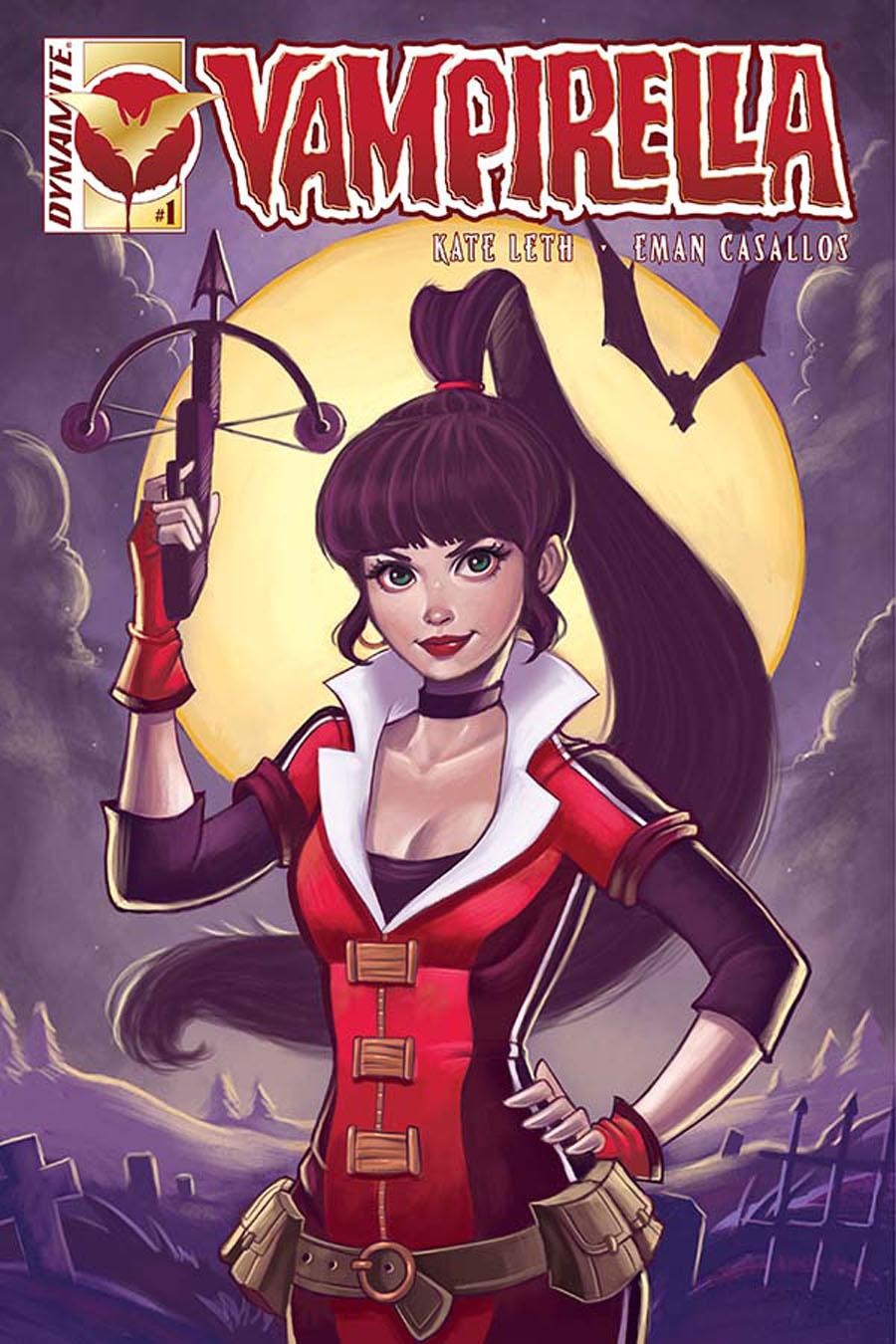 Vampirella Vol 6 #1 Cover A Regular Chrissie Zullo Cover
