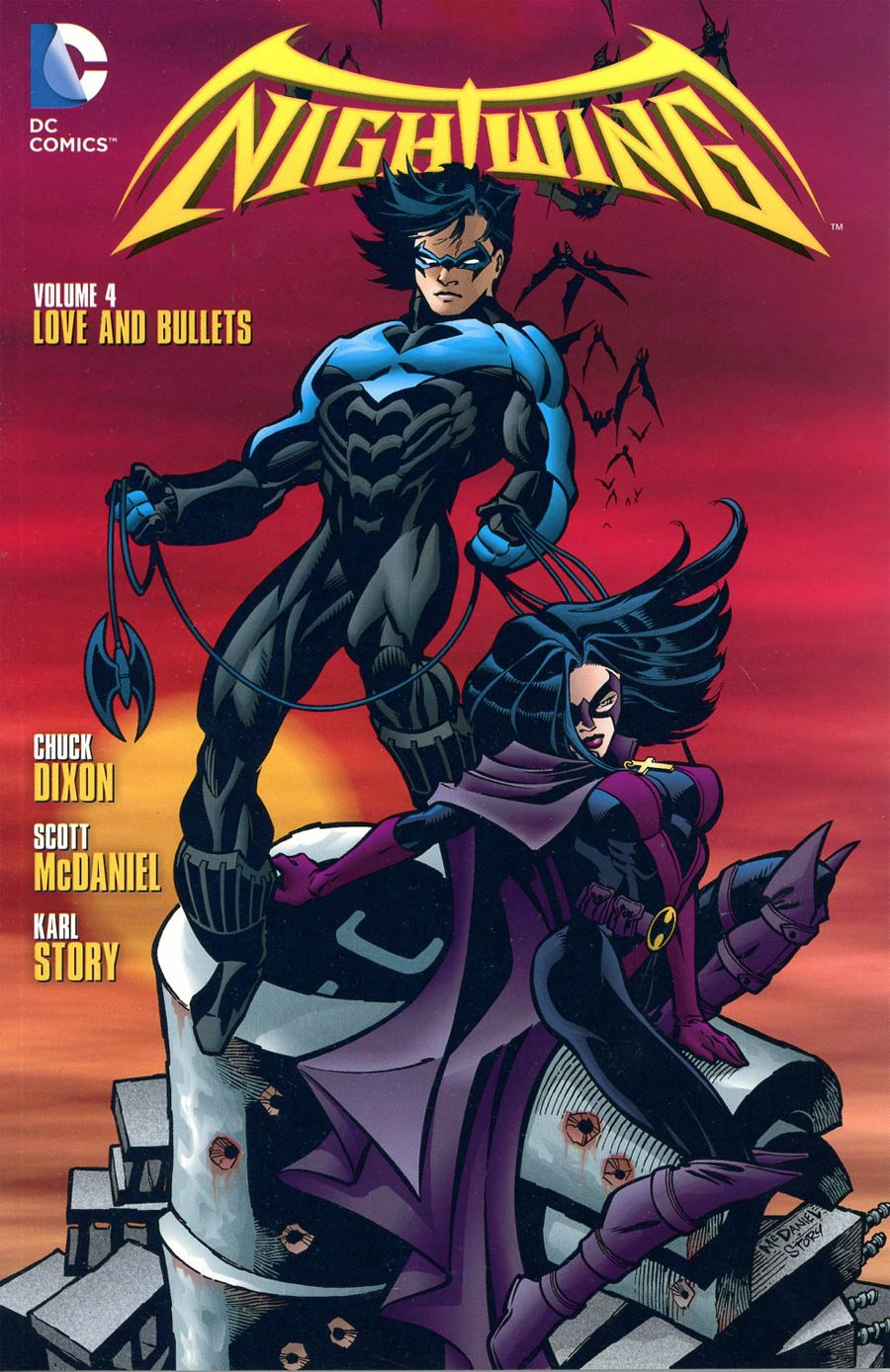 Nightwing Vol 4 Love And Bullets TP