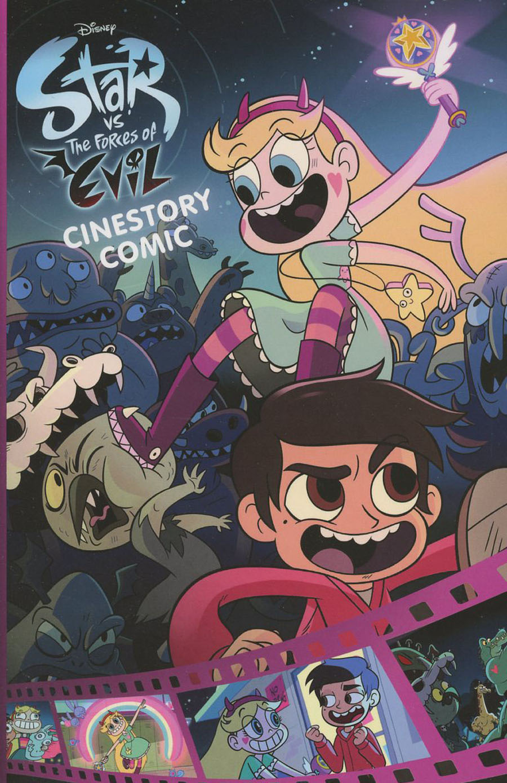 Disneys Star vs The Forces Of Evil Cinestory Comic SC
