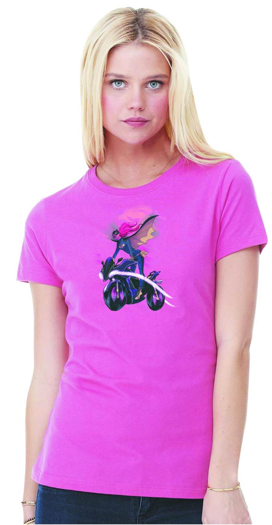 Batgirl Soar By Babs Tarr Womens T-Shirt Large