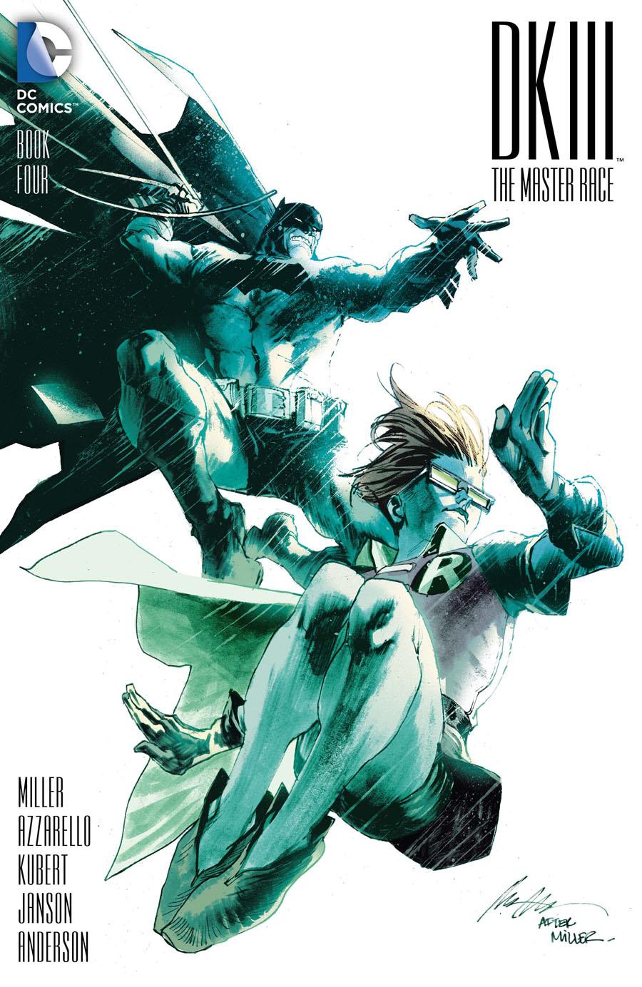 Dark Knight III The Master Race #4 Cover E Incentive Rafael Albuquerque Variant Cover