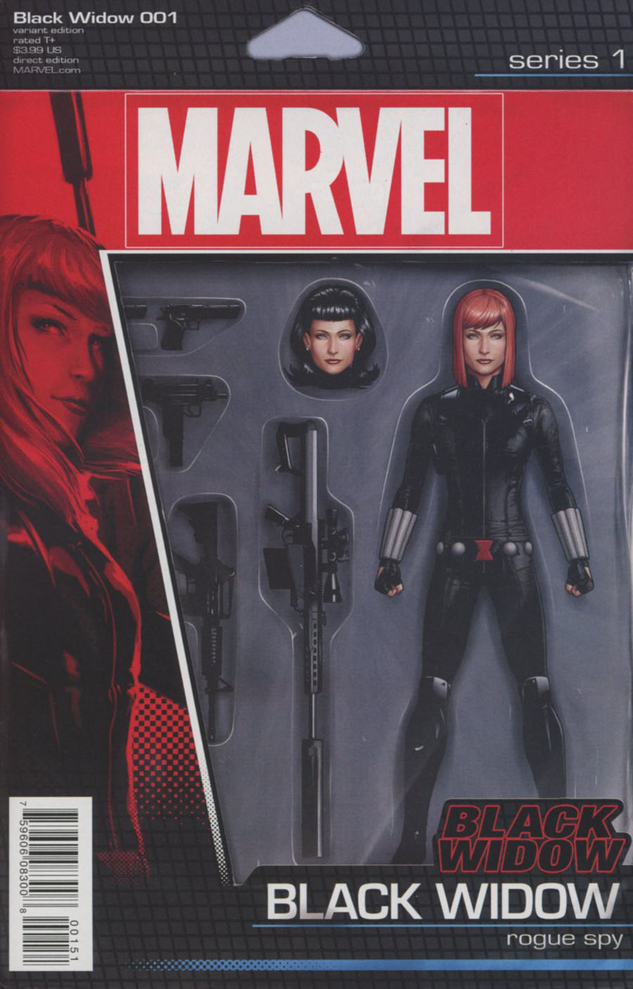 Black Widow Vol 6 #1 Cover D Variant John Tyler Christopher Action Figure Cover