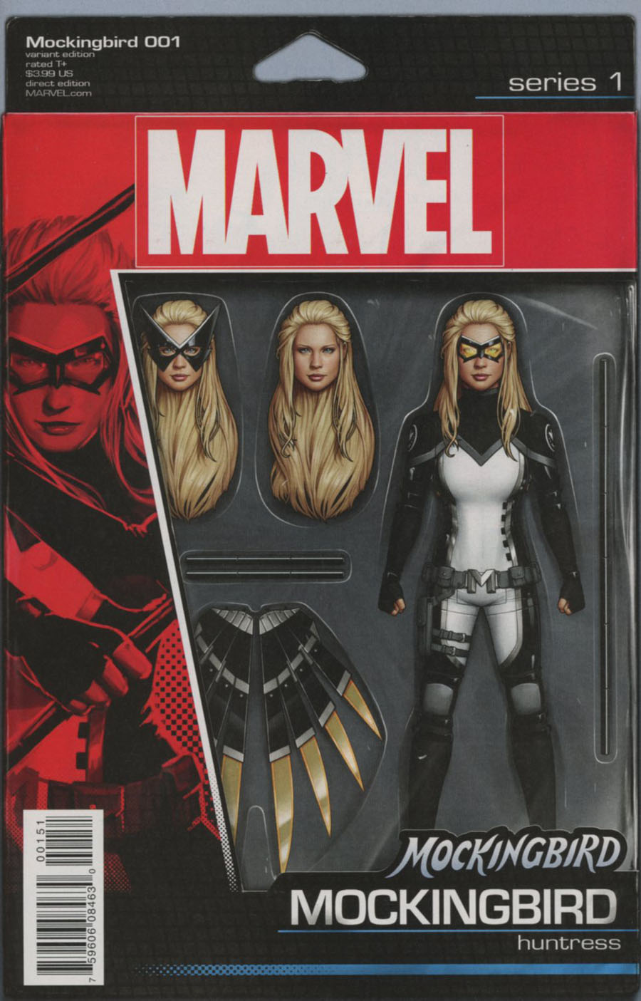 Mockingbird #1 Cover D Variant John Tyler Christopher Action Figure Cover