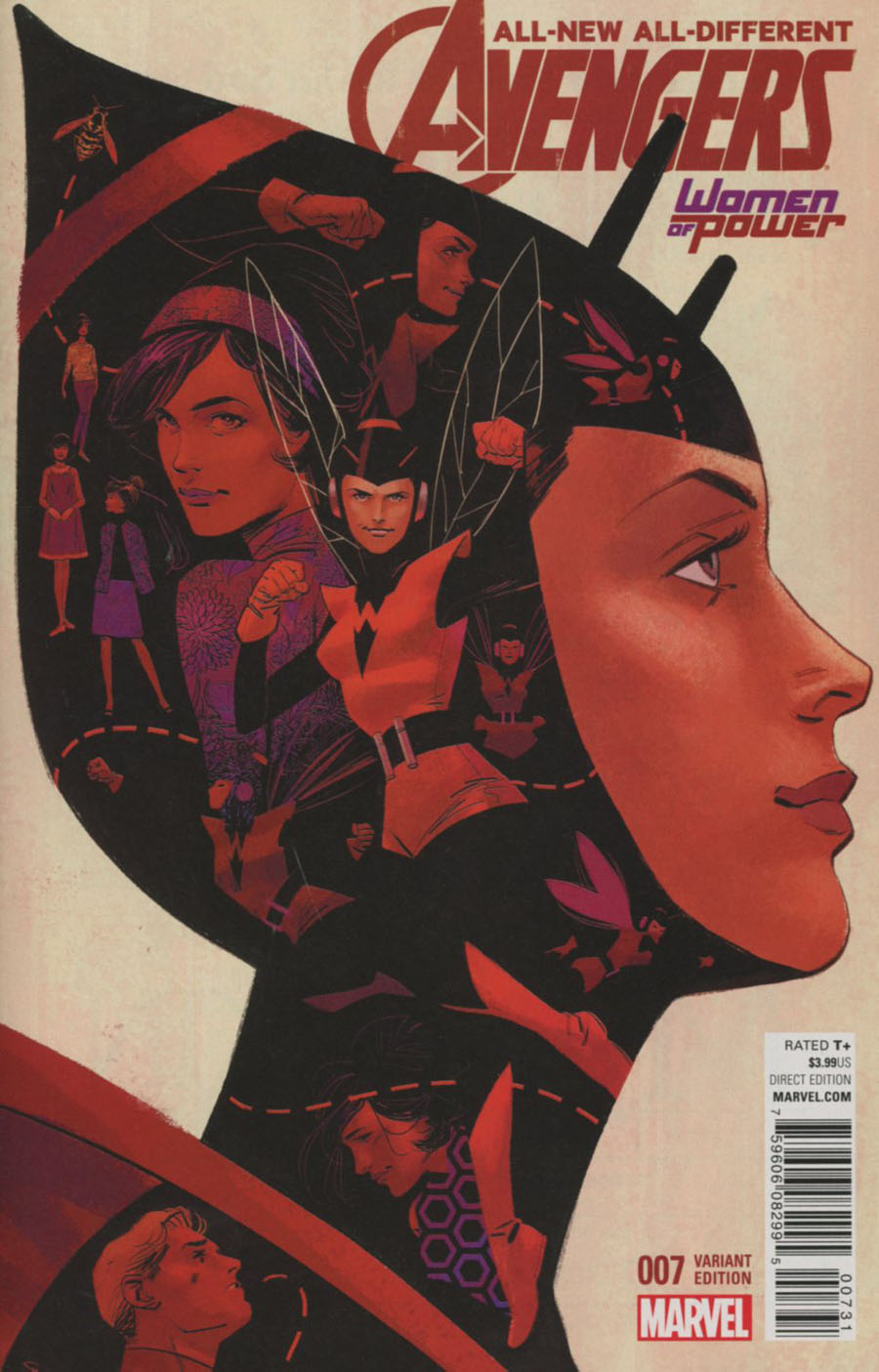 All-New All-Different Avengers #7 Cover B Variant Women Of Power Cover (Standoff Tie-In)