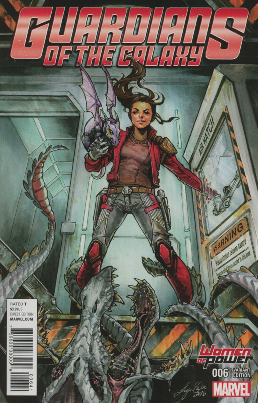 Guardians Of The Galaxy Vol 4 #6 Cover C Variant Siya Oum Women Of Power Cover
