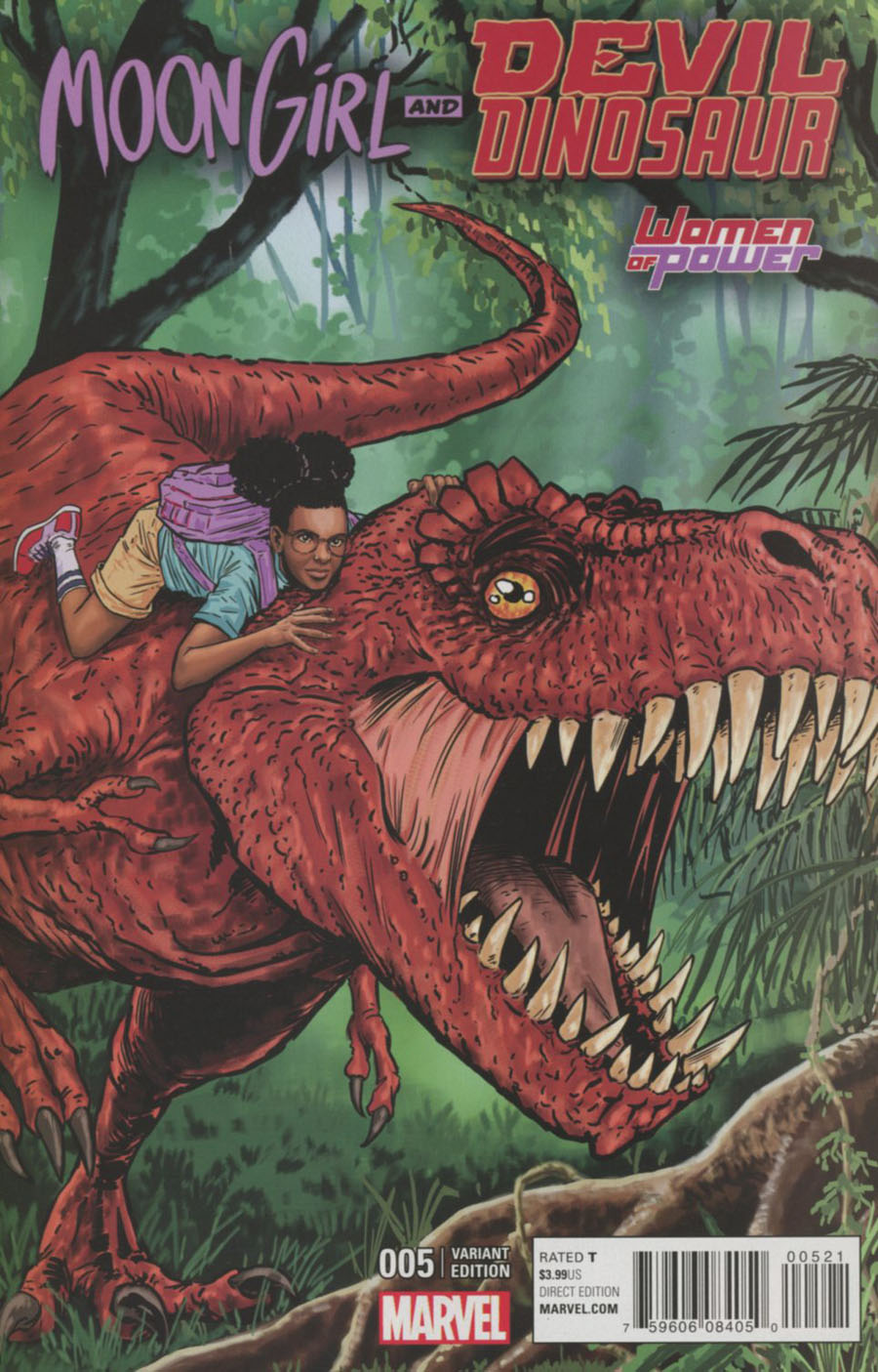 Moon Girl And Devil Dinosaur #5 Cover B Variant Women Of Power Cover
