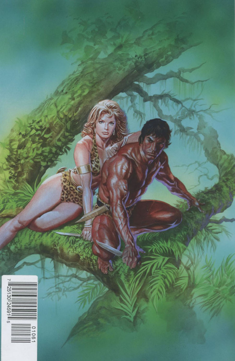 Lords Of The Jungle #1 Cover F Rare Alex Ross Virgin Cover