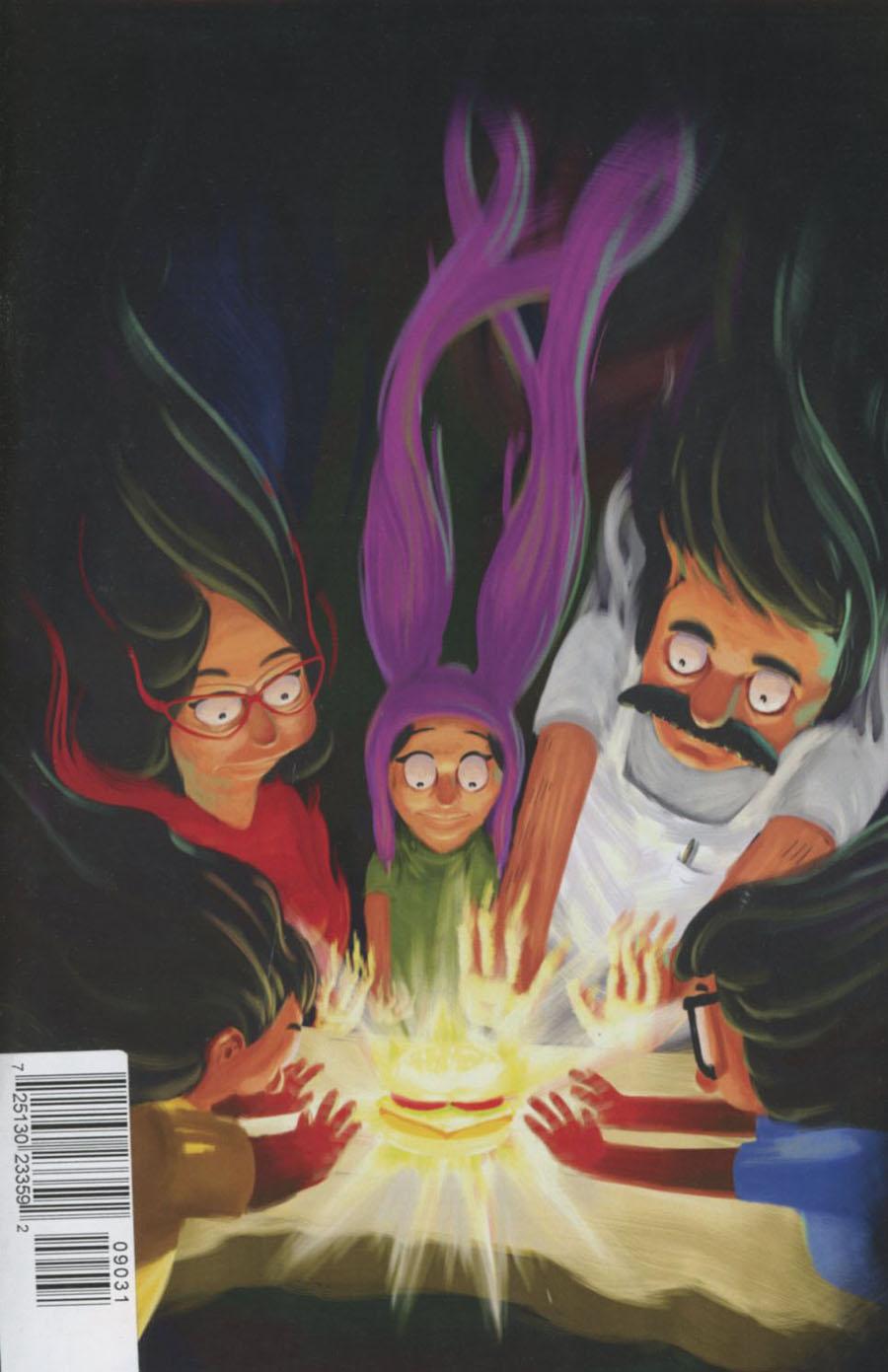 Bobs Burgers Vol 2 #9 Cover C Rare Joe Healy Reynoso Virgin Cover
