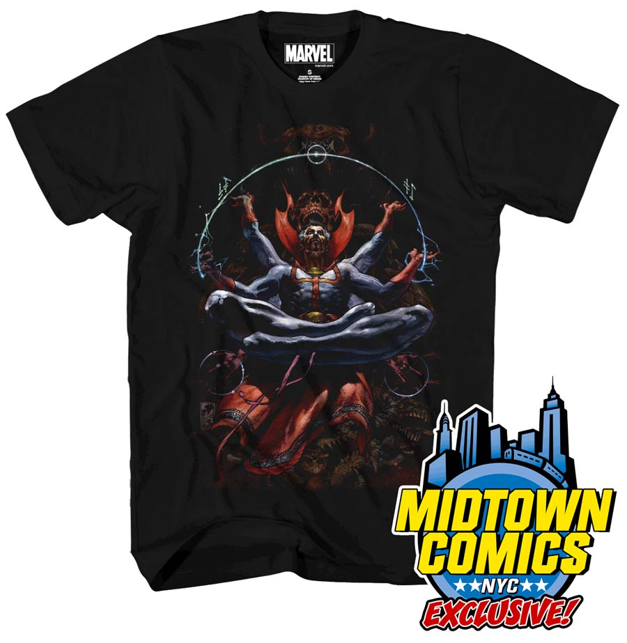 Doctor Strange By Simone Bianchi Midtown Exclusive T-Shirt Large