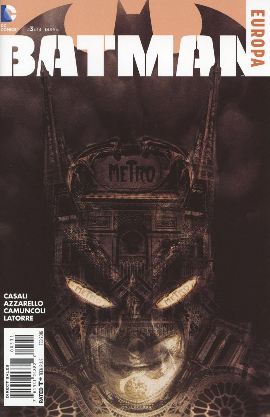 Batman Europa #3 Cover C Incentive Diego Latorre Sketch Cover